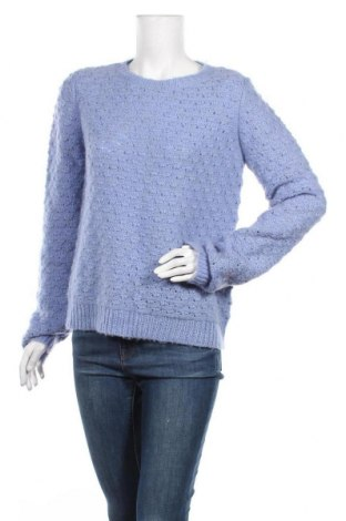 Дамски пуловер 2ND Day, Размер L, Цвят Син, 50% акрил, 39% мохер, 11% вълна, Цена 50,16лв.