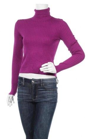 Дамски пуловер Bershka, Размер L, Цвят Лилав, Цена 16,80лв.