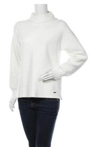 Дамски пуловер Betty & Co, Размер L, Цвят Бял, 52% вискоза, 28% полиестер, 20% полиамид, Цена 35,60лв.