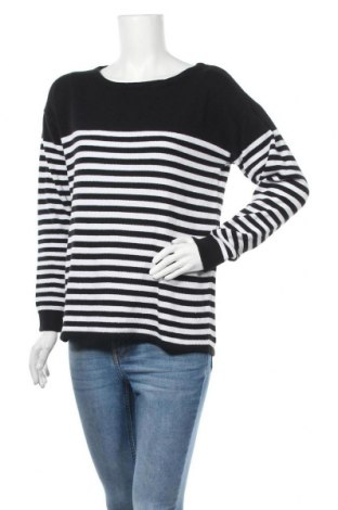 Дамски пуловер Boysen's, Размер M, Цвят Черен, 70% памук, 30% полиестер, Цена 34,50лв.
