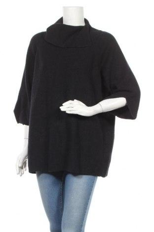 Дамски пуловер COS, Размер M, Цвят Син, 55% памук, 45% вълна, Цена 46,92лв.