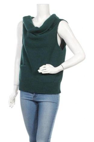 Дамски пуловер Cotélac, Размер M, Цвят Зелен, 50% акрил, 50% вълна, Цена 36,72лв.