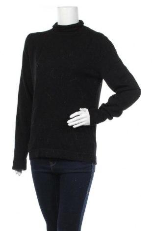 Дамски пуловер Drykorn for beautiful people, Размер XL, Цвят Черен, 100% вълна, Цена 68,02лв.