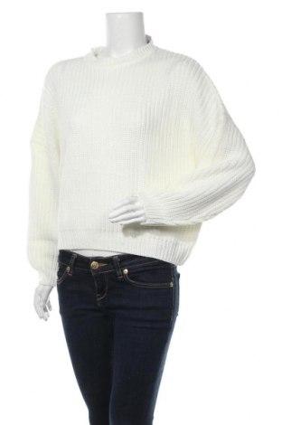 Pulover de femei Even&Odd, Mărime M, Culoare Alb, Poliacrilic, Preț 59,41 Lei
