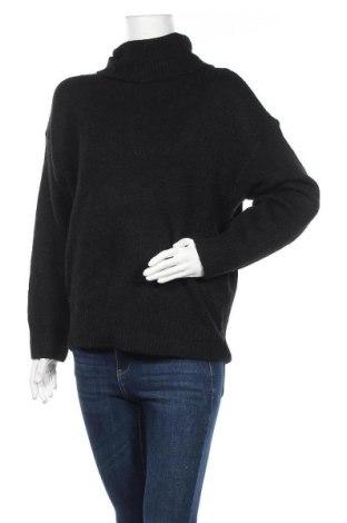 Дамски пуловер Even&Odd, Размер M, Цвят Черен, 76% полиестер, 14% полиакрил, 7% вълна, 3% еластан, Цена 23,60лв.