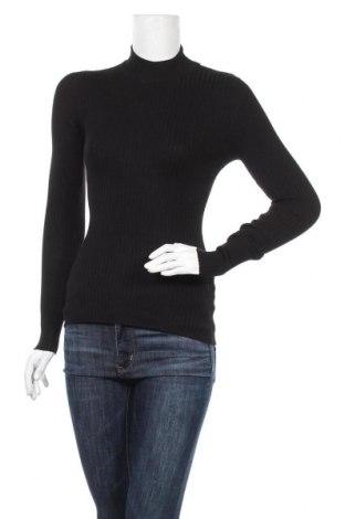 Дамски пуловер Even&Odd, Размер M, Цвят Черен, 81% вискоза, 19% полиамид, Цена 19,60лв.