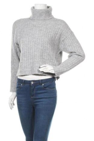 Дамски пуловер Even&Odd, Размер S, Цвят Сив, 62% полиестер, 34% полиакрил, 4% еластан, Цена 19,60лв.