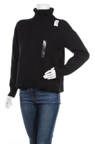 Дамски пуловер Gap, Размер S, Цвят Черен, 100% памук, Цена 31,60лв.
