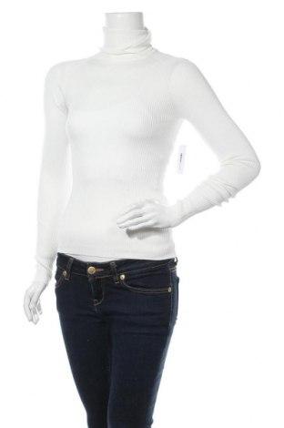Дамски пуловер Gina Tricot, Размер S, Цвят Бял, 70% вискоза, 30% полиамид, Цена 36,75лв.