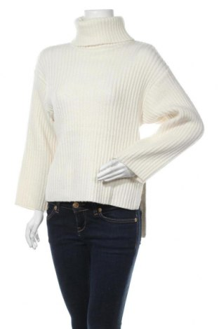 Дамски пуловер Gina Tricot, Размер XS, Цвят Екрю, 63% акрил, 32% полиамид, 5% вълна, Цена 42,00лв.