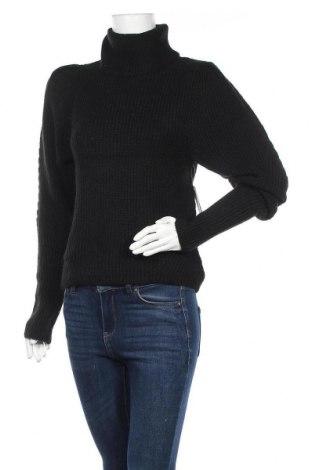 Дамски пуловер Gina Tricot, Размер M, Цвят Черен, 57% полиестер, 33% акрил, 5% вълна, 5% вълна от алпака, Цена 44,25лв.