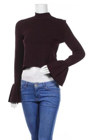 Дамски пуловер H&M, Размер S, Цвят Лилав, 75% вискоза, 25% полиамид, Цена 16,82лв.
