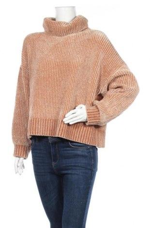 Дамски пуловер H&M Divided, Размер L, Цвят Кафяв, Полиестер, Цена 16,43лв.