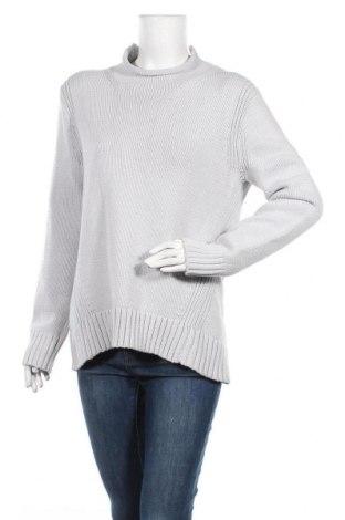 Дамски пуловер J.Crew, Размер M, Цвят Сив, 72% памук, 28% полиамид, Цена 44,08лв.