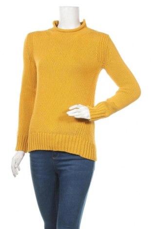 Дамски пуловер J.Crew, Размер XS, Цвят Жълт, Цена 47,88лв.