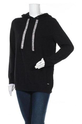 Дамски пуловер Laura Scott, Размер XL, Цвят Черен, 50% вискоза, 28% полиестер, 22% полиамид, Цена 59,00лв.