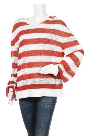 Dámský svetr MRZ, Velikost L, Barva Oranžová, 75% bavlna, 20% hedvábí, 5% kašmír , Cena  727,00Kč