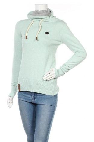 Дамски пуловер Naketano, Размер M, Цвят Зелен, Памук, Цена 45,60лв.