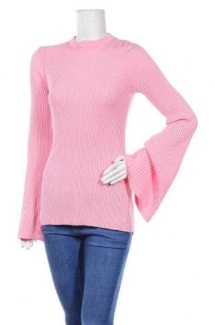 Дамски пуловер Pinko, Размер L, Цвят Розов, 87% вискоза, 13% полиестер, Цена 52,82лв.