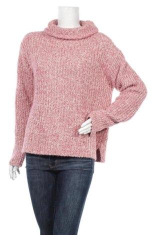 Дамски пуловер Point Sur, Размер L, Цвят Розов, 55% памук, 27% акрил, 13% полиестер, 5% полиамид, Цена 56,62лв.