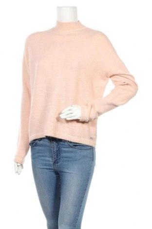 Дамски пуловер Q/S by S.Oliver, Размер S, Цвят Розов, 73% акрил, 24% полиестер, 3% еластан, Цена 9,60лв.