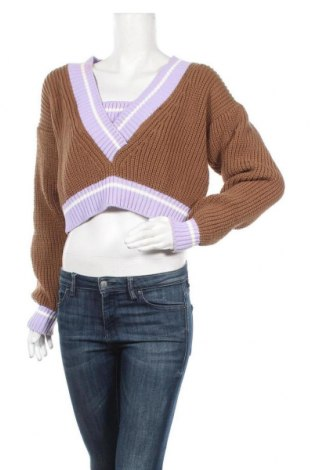Pulover de femei Trendyol, Mărime S, Culoare Maro, Acrilic, Preț 59,87 Lei