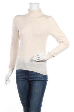 Дамски пуловер Vero Moda, Размер M, Цвят Бежов, 80% вискоза, 20% полиамид, Цена 23,60лв.
