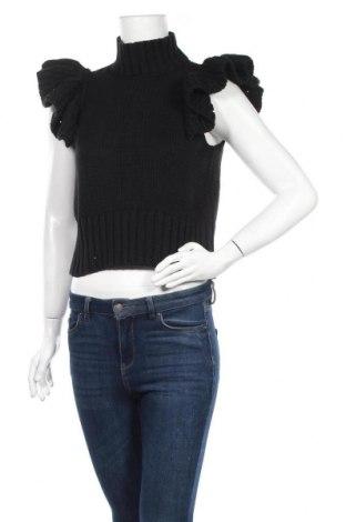 Дамски пуловер Y.A.S, Размер S, Цвят Черен, 60% памук, 40% акрил, Цена 23,20лв.