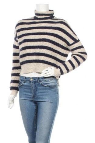 Дамски пуловер Zara Knitwear, Размер S, Цвят Бежов, Цена 28,56лв.