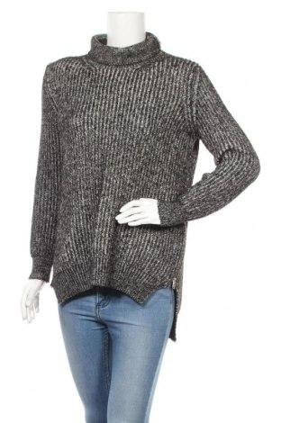 Дамски пуловер Zara Knitwear, Размер S, Цвят Черен, 52% акрил, 28% памук, 12% полиамид, 6% вълна, 2% вискоза, Цена 31,50лв.