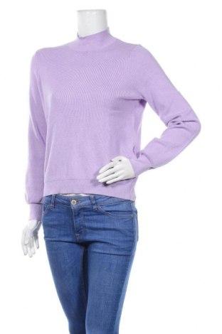 Дамски пуловер Zign, Размер M, Цвят Лилав, 81% вискоза, 19% полиамид, Цена 20,80лв.