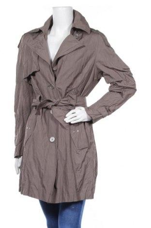 Дамски шлифер Gil Bret, Размер L, Цвят Кафяв, 51% полиестер, 43% памук, 6% метални нишки, Цена 52,80лв.