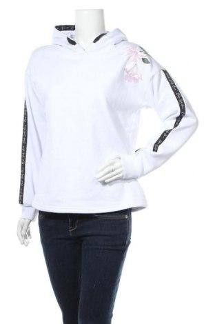Γυναικείο φούτερ Bench, Μέγεθος L, Χρώμα Λευκό, 65% βαμβάκι, 35% πολυεστέρας, Τιμή 19,55€