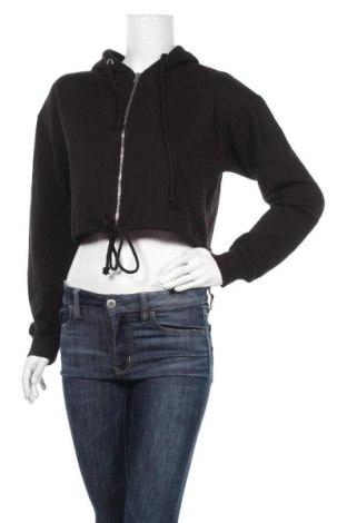 Γυναικείο φούτερ Missguided, Μέγεθος M, Χρώμα Μαύρο, 60% πολυεστέρας, 40% βαμβάκι, Τιμή 12,86€