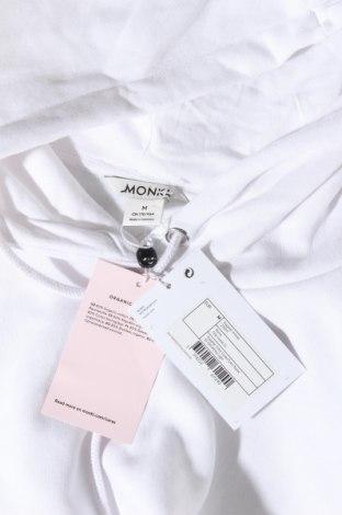 Γυναικείο φούτερ Monki, Μέγεθος M, Χρώμα Λευκό, 80% βαμβάκι, 20% πολυεστέρας, Τιμή 22,81€