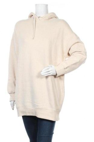 Дамски суичър Monki, Размер XXS, Цвят Бежов, 95% памук, 5% еластан, Цена 23,92лв.