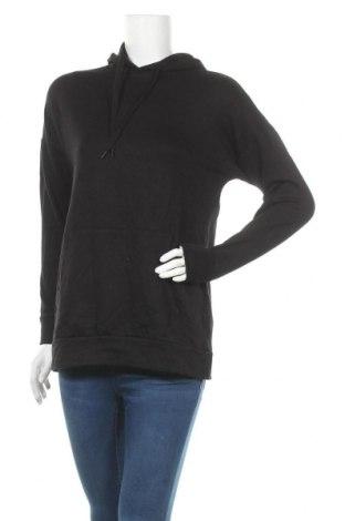 Γυναικείο φούτερ ONLY, Μέγεθος XS, Χρώμα Μαύρο, 60% βισκόζη, 35% βαμβάκι, 5% ελαστάνη, Τιμή 18,22€