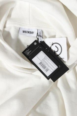 Γυναικείο φούτερ Weekday, Μέγεθος S, Χρώμα Λευκό, 80% βαμβάκι, 20% πολυεστέρας, Τιμή 17,64€