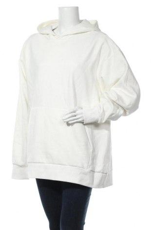 Γυναικείο φούτερ Weekday, Μέγεθος M, Χρώμα Λευκό, 80% βαμβάκι, 20% πολυεστέρας, Τιμή 17,64€