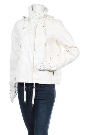 Дамско кожено яке Comma,, Размер S, Цвят Бял, Еко кожа, Цена 85,40лв.