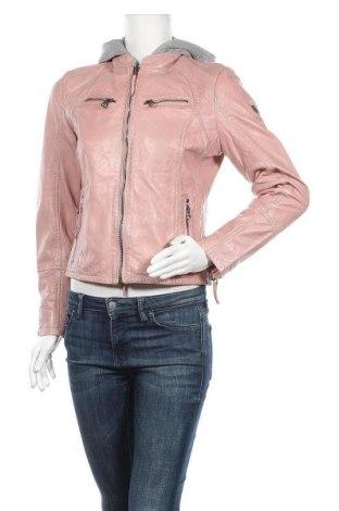 Γυναικείο δερμάτινο μπουφάν Gipsy, Μέγεθος M, Χρώμα Ρόζ , Γνήσιο δέρμα, Τιμή 106,28€