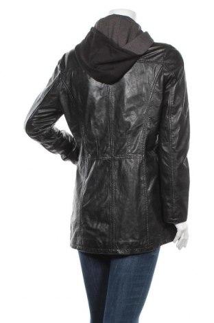 Γυναικείο δερμάτινο μπουφάν Gipsy, Μέγεθος M, Χρώμα Μαύρο, Γνήσιο δέρμα, Τιμή 107,45€