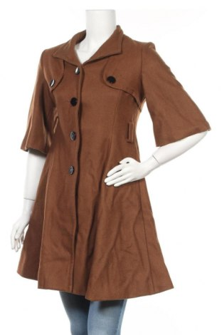 Дамско палто, Размер M, Цвят Кафяв, Цена 27,84лв.