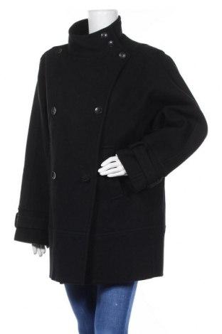 Дамско палто Andrew Marc, Размер XL, Цвят Черен, 80% вълна, 20% полиамид, Цена 79,04лв.