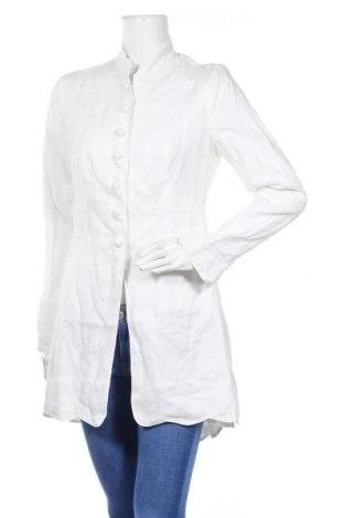 Дамско палто Bandolera, Размер M, Цвят Бял, Рамия, Цена 51,62лв.
