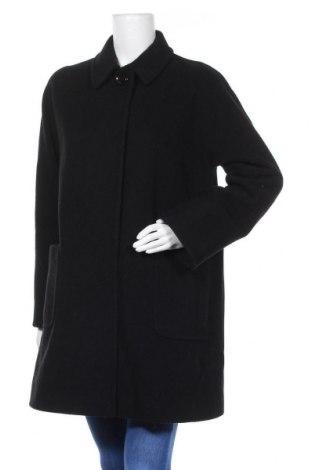 Дамско палто Cinzia Rocca, Размер M, Цвят Черен, 60% вълна, 20% кашмир, 20% полиамид, Цена 121,50лв.