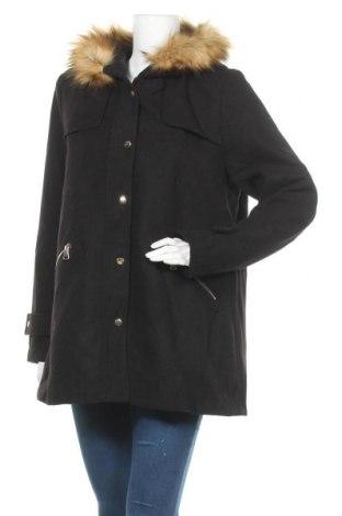 Дамско палто Envie De Fraise, Размер M, Цвят Черен, Полиестер, Цена 56,18лв.