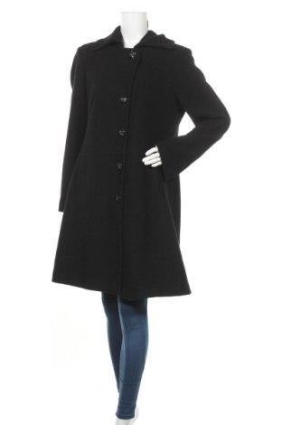 Дамско палто Marco Pecci, Размер XL, Цвят Черен, 55% вълна, 30% полиестер, 15% вискоза, Цена 53,96лв.