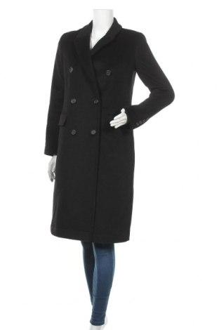 Дамско палто Ralph Lauren, Размер XS, Цвят Черен, 60% вълна, 25% полиестер, 5% кашмир, 5% памук, 5% други тъкани, Цена 297,12лв.