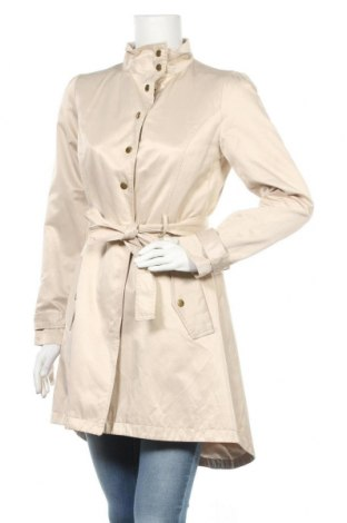 Дамско палто Vila, Размер M, Цвят Бежов, 55% памук, 45% полиестер, Цена 31,50лв.